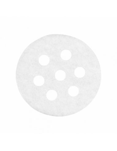 Papier perforé pour récipient pour cuiseur vapeur