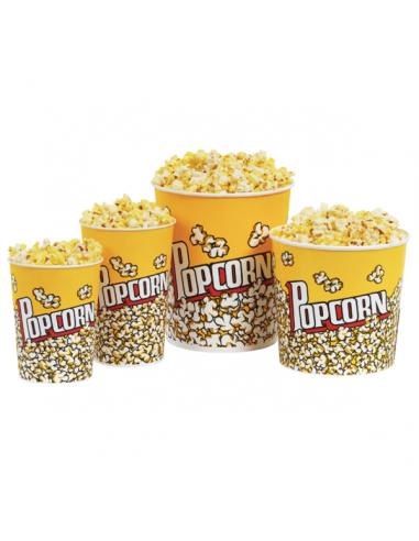 Gobelets pour Pop Corn - 6 Tailles...