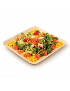 Assiettes carrées WEBIO - 6 Tailles Disponibles - par 200 unités