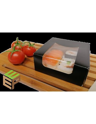 Boite à sushi avec fenêtre Noir ou...