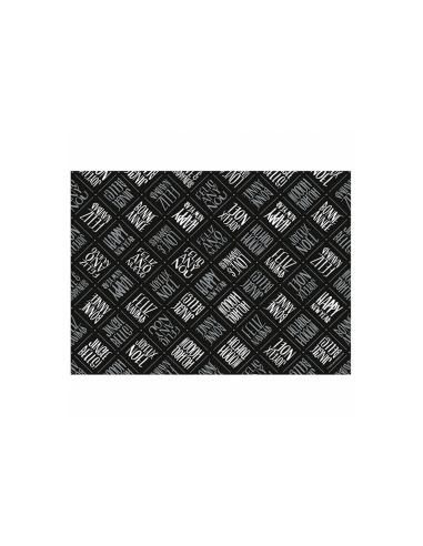 """Set de table """"Silver & Black"""" - 31x43 cm"""