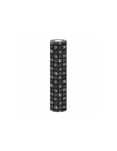 """Nappe en rouleau - """"Silver & Black"""" - 1,20x25 m"""