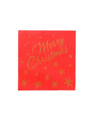 "Serviette ""Merry Christmas"" - 40x40 cm"