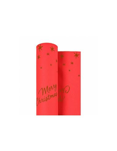 "Nappe ""Merry christmas"" - 1,20x25 m"
