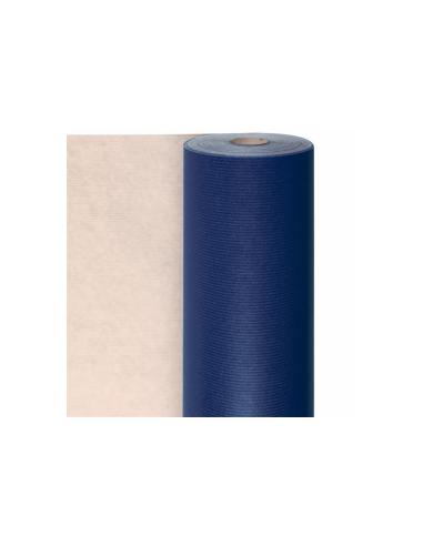 Papier cadeau en rouleau - bleu