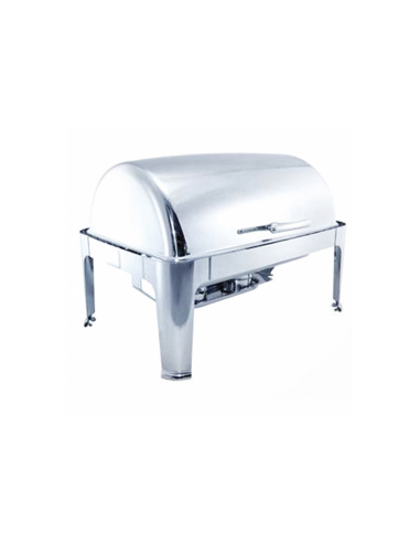 Chafing dish couvercle rabattable 9L 64x48