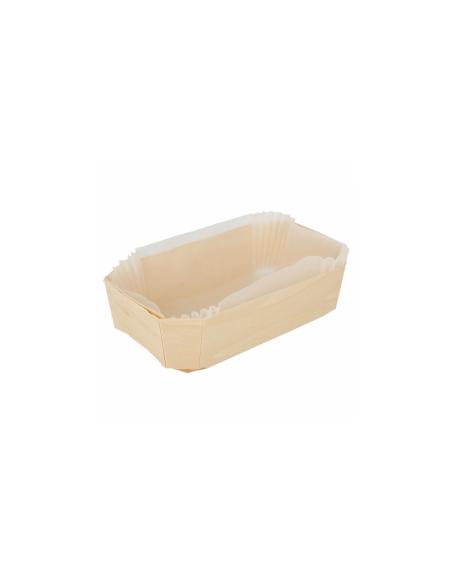 Barquette pour cuisson - 14x9x4,5 cm - par 400 unités