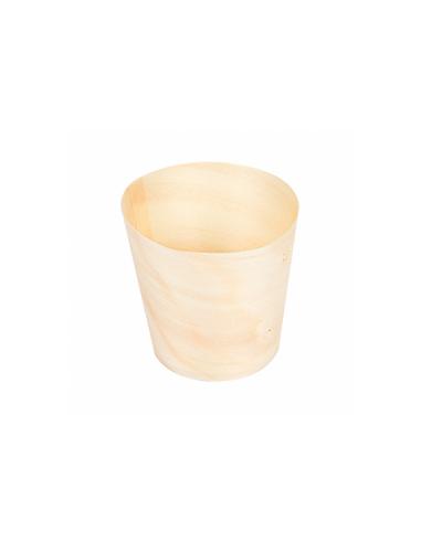 Mini verre en bois - 15ml