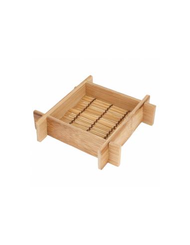 Mini récipient carré - 12 x 12 x 3 cm