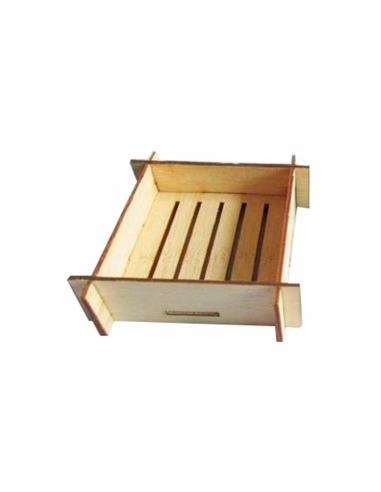 Mini récipients carrés pour mise en bouche - 6,3x6,3x3 cm