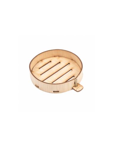 Mini récipients ronds pour mise en bouche - ø 5,85 x 1,3 cm