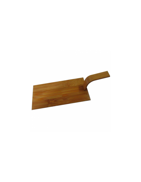 Mini pelles en bambou - 10 x 5 cm - Marron