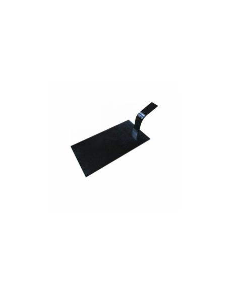 Mini pelles en bambou - 10 x 5 cm - noir