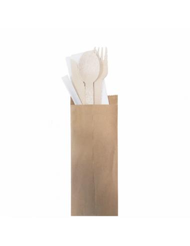 Set fourchette/couteau/cuillère/serviette/cure-dents