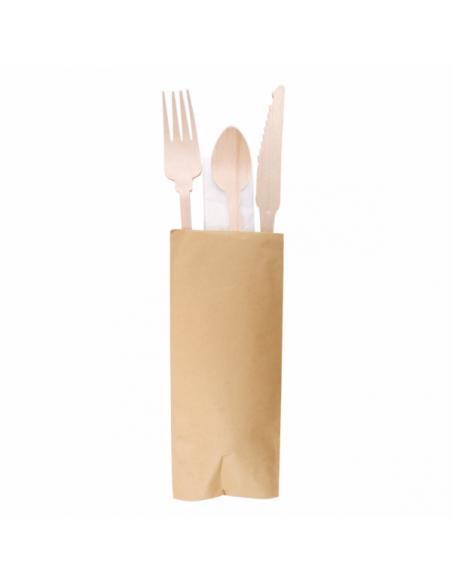 Set Fourchette/couteau/serviette/PetiteCuillère