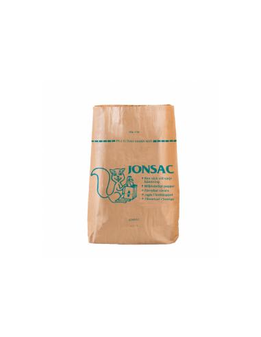 Sac poubelle biodégradable 110L 2x60g.m2 70x95x25cm marron kraft
