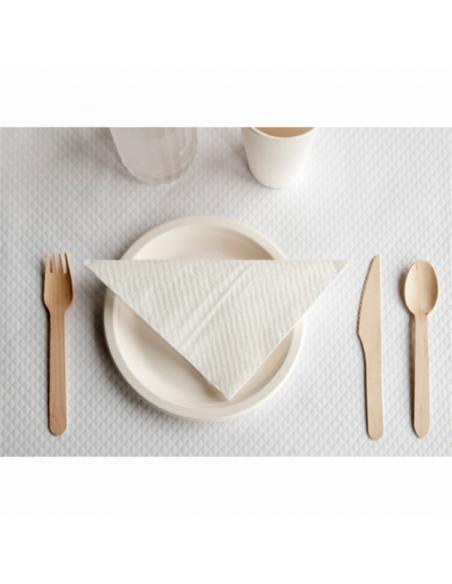 cuillère - fourchette - couteau en bois