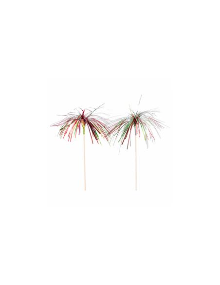 """Pique en bois """"Iridescentes"""" - 23,5 (h) cm"""