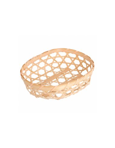 Corbeille tressée - 13x10x3 cm