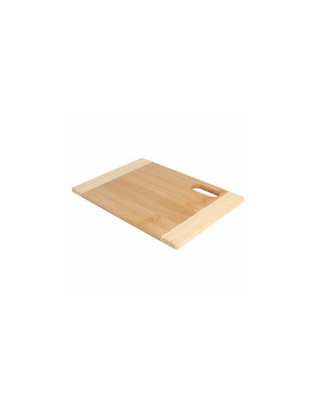 Planche à découper bicolore en bois
