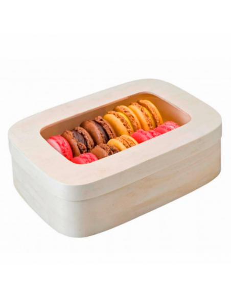 Boîte pour 10/12 macarons