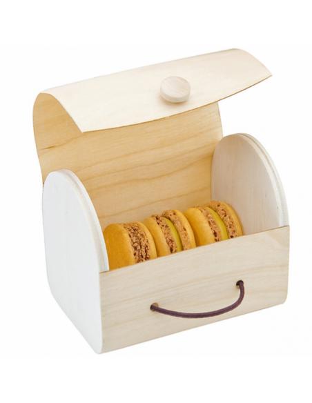 Boîte pour 3 macarons