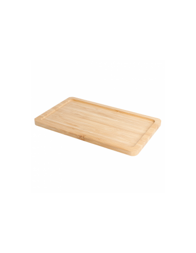 Plateau traiteur de présentation en bois