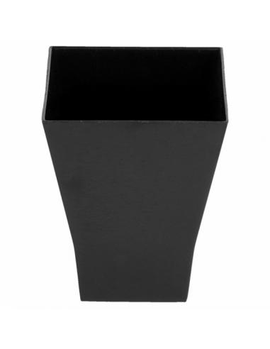 """Verrine Noire """"Bouquet"""" - 4,5x4,5x5,5 cm"""