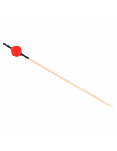 Piques Rouge et Noir en Bambou - 12 cm