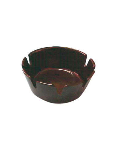 Cendriers de table ø 10 cm noir bakelite