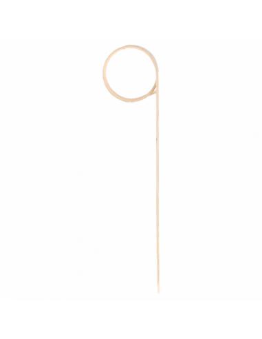 Piques Spirale en Bambou