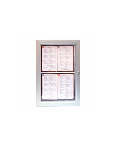 Porte menu lumineux - Double A4
