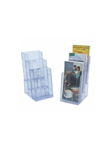 Porte brochures 1/3 - Transparent