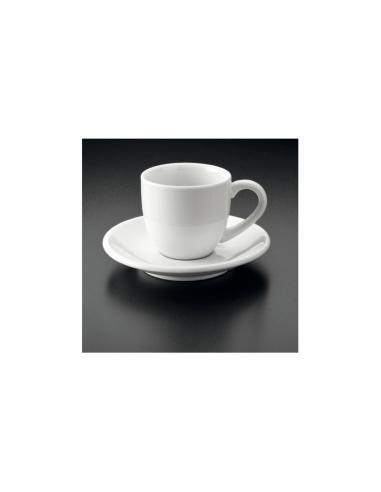TASSES CAFÉ + COUPELLE 90 ML - 36 UNITES