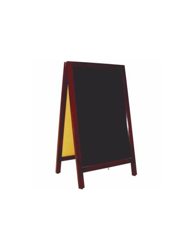 Ardoise en Angle 2 Faces - Noir - 50x85x40 CM