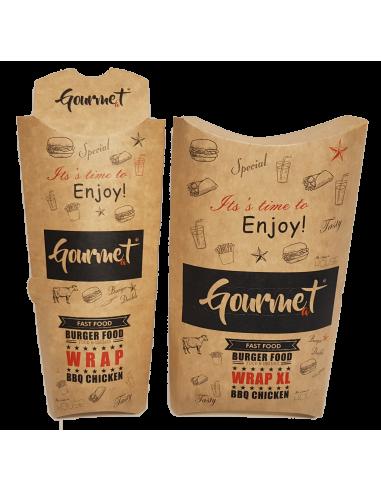 Boîtes pour WRAP/Tacos - Gamme Gourmet