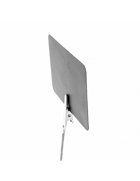 "Mini ardoises ""ALLIGATOR"" Noir - 5,1x7,6 cm"