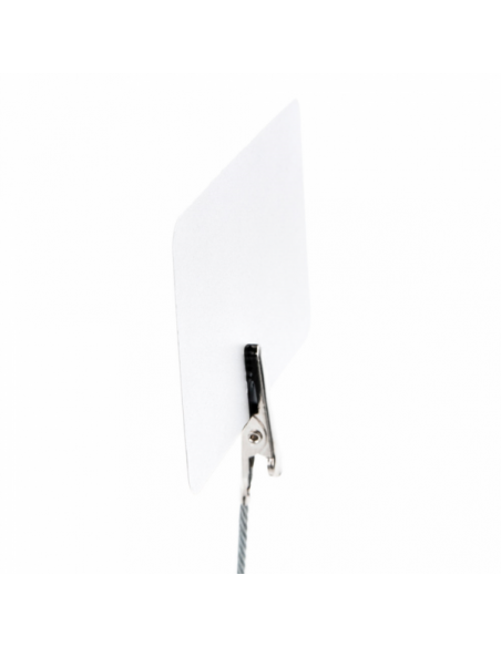 "Mini ardoises ""ALLIGATOR"" Blanc - 5,1x7,6 cm"