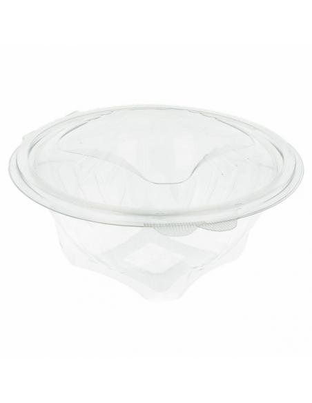 bol salade plastique transparent