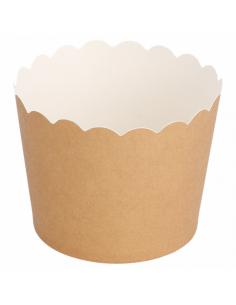 Moules muffins - marron - ø...