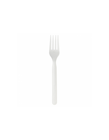 Fourchette CPLA blanc 17cm