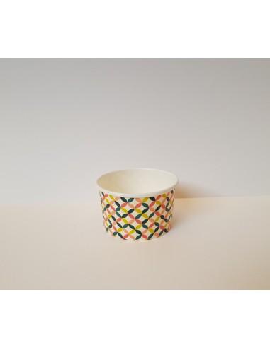 Pot à glace taille Medium - 86x74x51 mm - 5oz