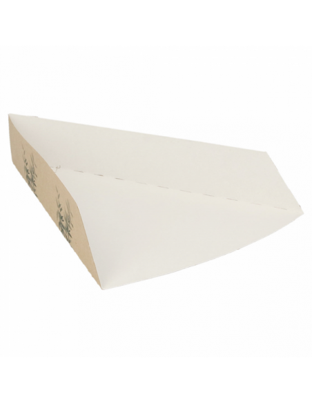 Pelle pizza triangulaire en carton