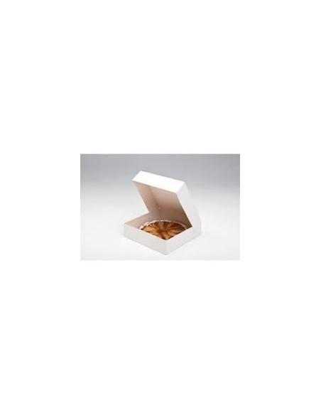 Boîtes pâtissière blanches - Hauteur 8 cm