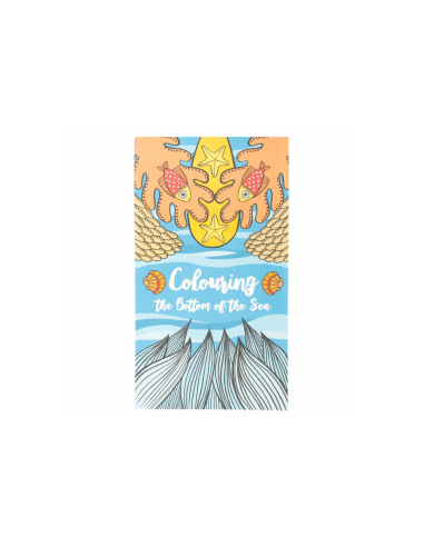 """Cahier de coloriage, modèle """"MER"""" 100 G/M2 12.5x22 CM"""
