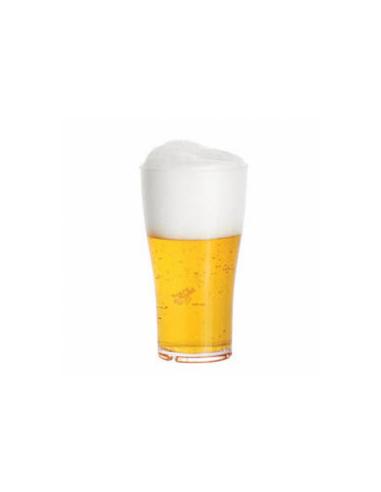 Verre à bière transparent en polycarbonate 570 ML Ø 8.8x15.7 CM