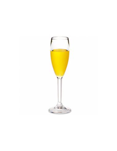 Flûte à champagne transparente en polycarbonate 150 ML Ø 5.2x23 CM