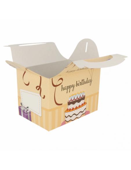 Boîtes Menu Enfant HAPPY BIRTHDAY