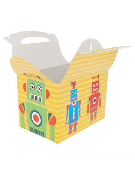 Boîtes Menu Enfant ROBOTS