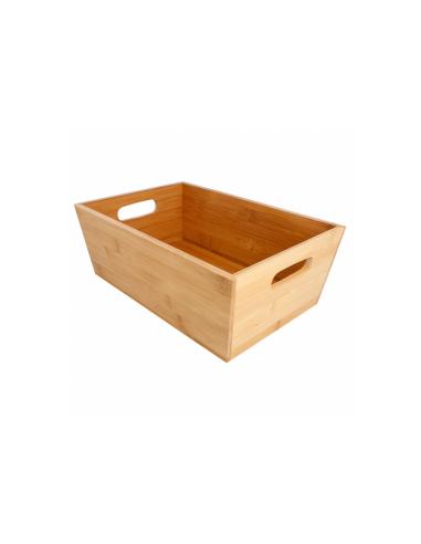 Corbeille à pain en bambou 30x20x11 CM
